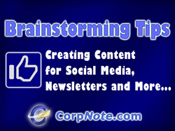 Here's a few of my favorite techniques for generating topics for social media and blog posts.