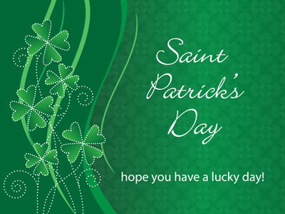 CorpNote enables you to create your Saint Patrick's Day eCards now and schedule them to be sent on Saint Patrick's Day.
